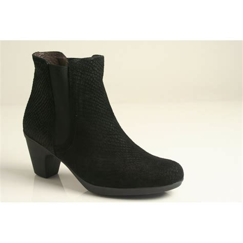 Boots R Style toni pons toni pons style forli r black snake effect printed leather ankle boot with