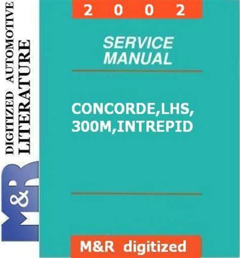 service repair manual free download 2002 chrysler concorde transmission control 2002 intrepid concorde 300m chrysler dodge service manual downl