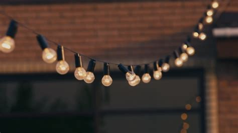 garland of light bulbs by stockseller videohive