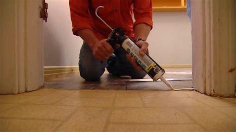 install vinyl flooring   adhesive