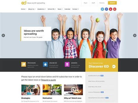 themes wordpress gratis educacion 45 mejores temas wordpress para educaci 243 n 2018