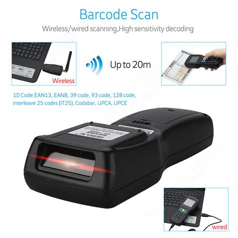 Detection Barcode Laser Scaner Taffware Yk960 heroje mobile terminal wireless laser scanner barcode data