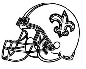 new orleans coloring helmet saints new orleans coloring pages football