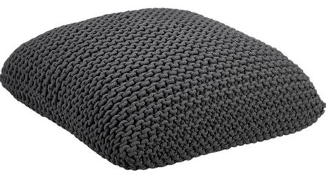Cb2 Floor Pillow by Grey Floor Pillow Floor Pillows And Poufs