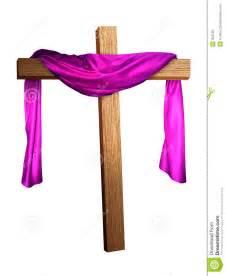 Cross draped in purple royalty free stock image image 803786