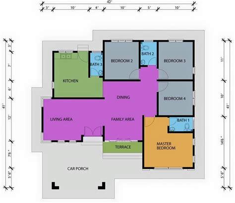 layout pcb bel rumah pelan lantai banglo setingkat 4 bilik www pixshark com
