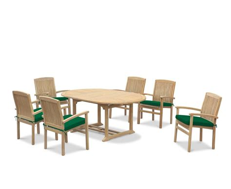 extendable dining sets brompton extendable dining table set with bali stacking chairs