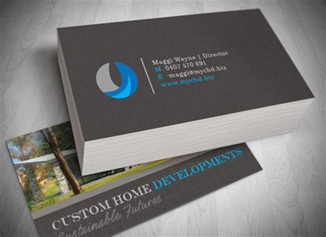 home design business cards business card design and printing gold coast