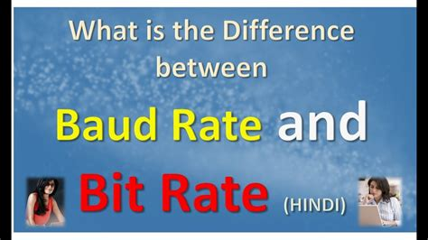 bit rate what is the difference between baud rate and bit rate in