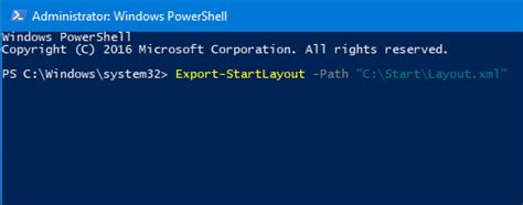 export start layout xml windows 10 how to export and import start menu layout in windows 10