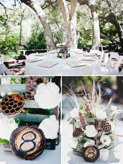 rustic wedding table ideas unique rustic wedding ideas weddings by lilly