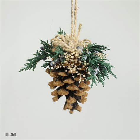 christmas decorations christmas tree ornament pine cone