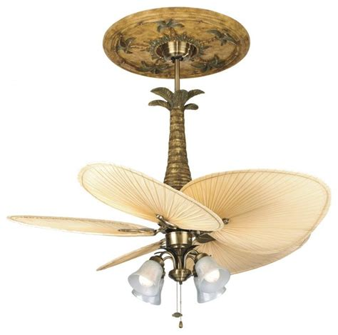 Brass Fan Light Kit Tropical Ceiling Fan Accessories Tropical Ceiling Fans With Lights