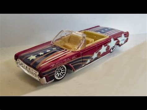 Hotwheels Lincolin Cotinental wheels 1964 lincoln continental convertible 4th of