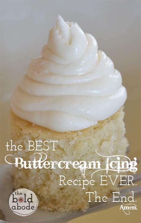 best icing buttercream icing recipe dishmaps