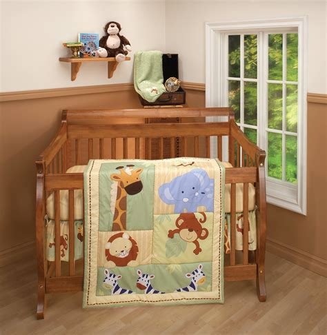 nojo crib bedding nojo safari kids crib bedding baby bedding and accessories