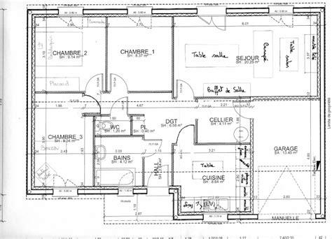 Echelle Plan Maison by Agencement Sejour