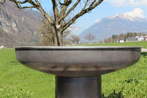 feuerschale chromstahl grosse feuerschale auch zum grillieren st 246 ckli metall ag