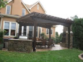 image of impressive patio deck shade structure from