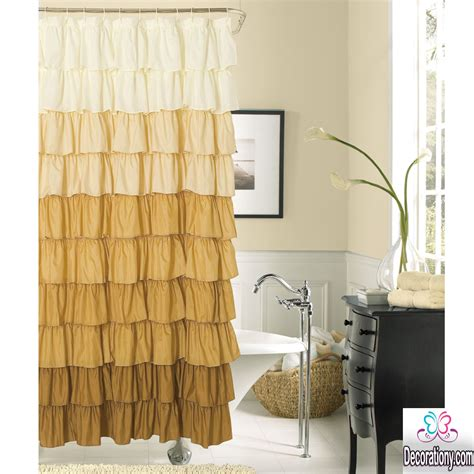 curtain tips amazing bathroom curtains ideas give the place more beauty