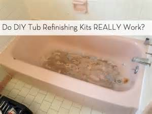 do diy bathtub refinishing kits really work