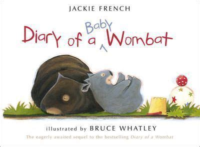 wombat picture book diary of a baby wombat jackie 9780007351756
