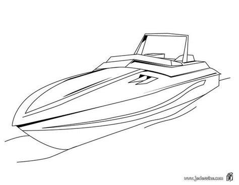 dessin bateau de course coloriage 195 dessiner d un bateau sur la mer