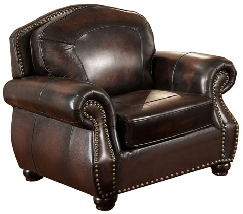 hyde brown leather armchair c9701c2889ls amax leather