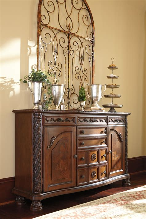ashley furniture north shore dining room server  classy home