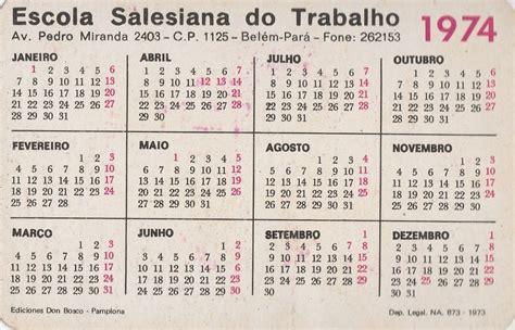 calend 225 bolso 1974 escola salesiana do trabalho f2