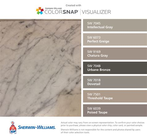 found the paint color poised taupe by sherwin williams i found these colors with colorsnap 174 visualizer for iphone