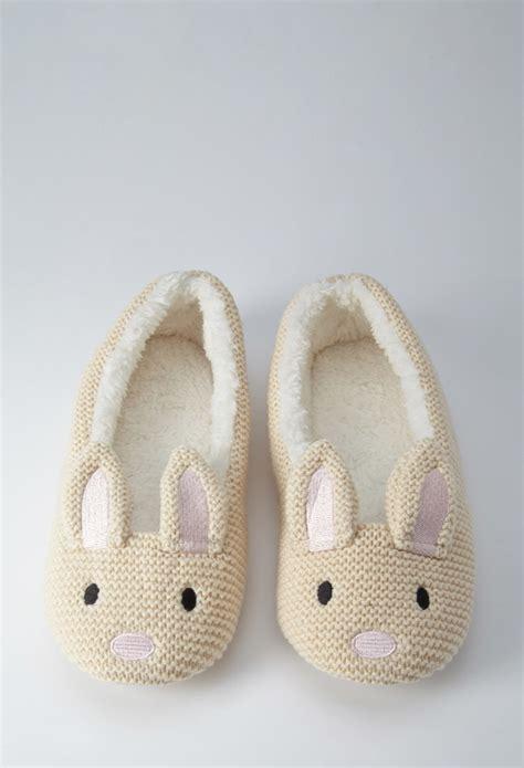 forever 21 slippers forever 21 bunny slippers in lyst