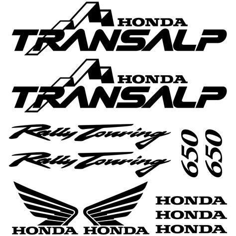 Honda Transalp 650 Aufkleber wandtattoos folies honda transalp 650 aufkleber set
