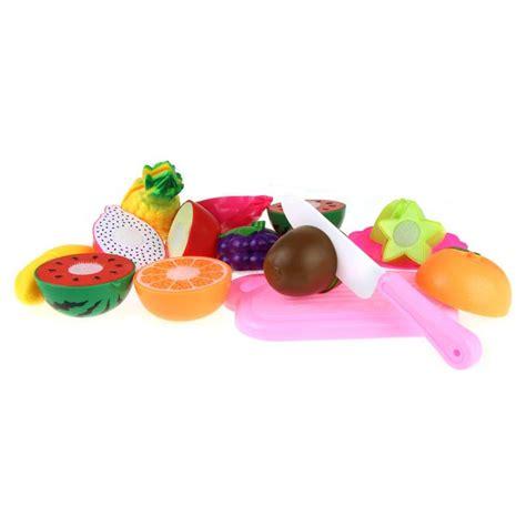 Buah Dan Sayur Potong19 Pcs mainan anak miniatur buah dan sayur 13 pcs multi color