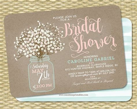 Wedding Invitation Card Purchase by Best 25 Bridal Shower Invitations Ideas On