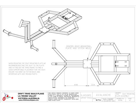plans com avalanche drift trike build plans