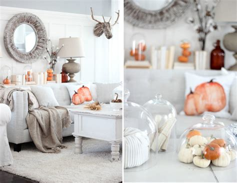 Fall At Room by Tis Autumn Living Room Fall Decor Ideas