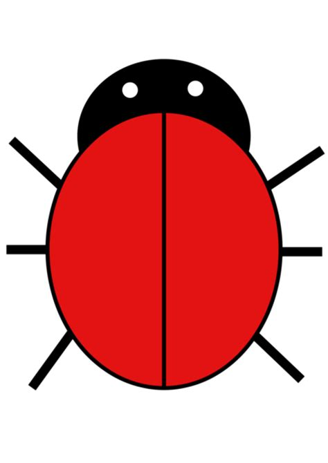 blank ladybug template ladybird free images at clker vector clip royalty free domain