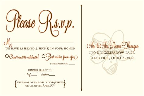 photo this is the best wedding rsvp card we ve ever seen plus 31