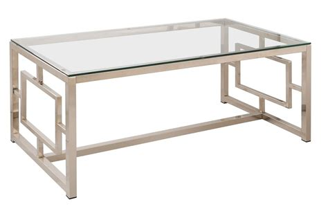 Nickel Coffee Table 703738 Satin Nickel Coffee Table From Coaster 703738 Coleman Furniture