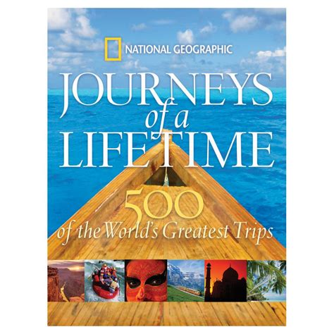 a tour of books journeys of a lifetime national geographic store