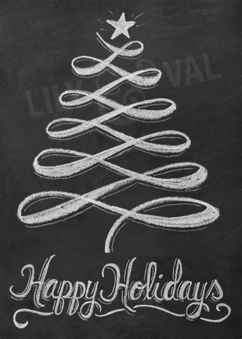 1000 ideas about christmas chalkboard art on pinterest