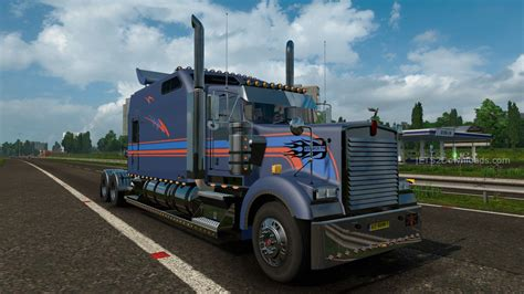 kenworth bus kenworth w900 long euro truck simulator 2 mods
