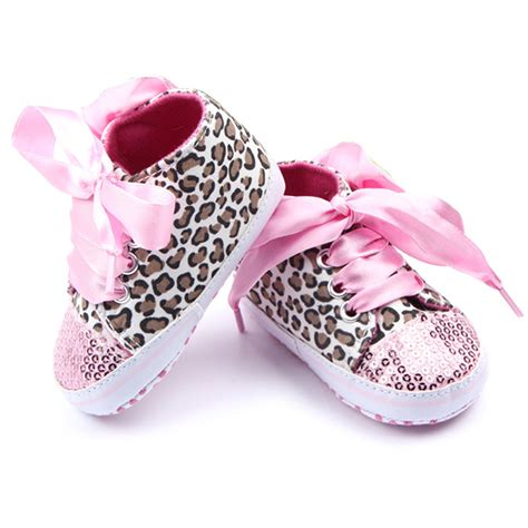 Spesial Jegging Baby Soft Y New Arrival toddler baby newborn shoes floral leopard sequin infant soft sole walker cotton