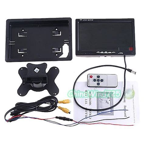 Pillow Tft Lcd Color Monitor by 7 Quot Pillow Tft Lcd Color Car Monitor Car Rear View