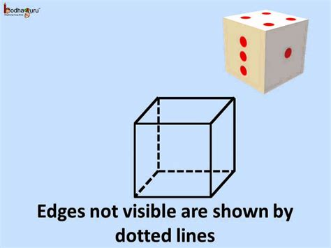How To Make Cuboid With Chart Paper - math how to draw 3d or solid shapes cube cuboids on