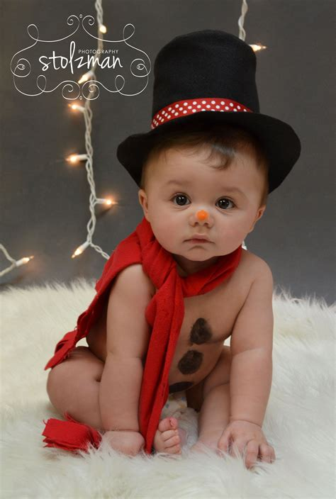 6 month christmas photos 20 picture ideas with babies photography snowman and holidays