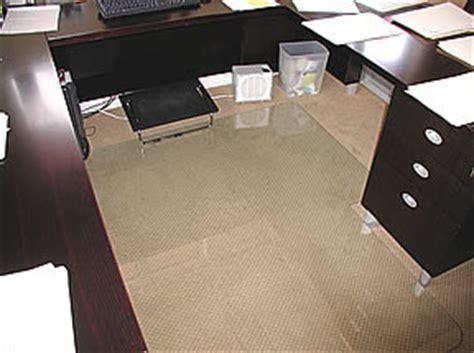 Custom Floor Mats For Office by Office Floor Mats Hardwood Floor Mat Bamboo Chair Mat