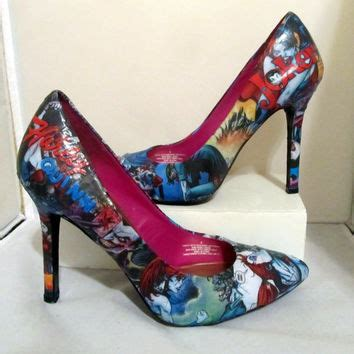 Mikayla 026 By Fidia Oshop best comic book heels products on wanelo