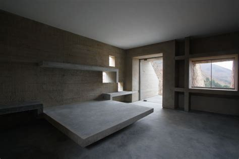 concrete bed pachamac house by longhi architects
